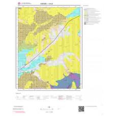 I29a4 Paftası 1/25.000 Ölçekli Vektör Jeoloji Haritası