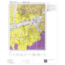 I29b1 Paftası 1/25.000 Ölçekli Vektör Jeoloji Haritası