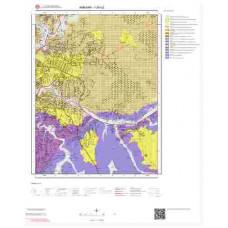 I29b2 Paftası 1/25.000 Ölçekli Vektör Jeoloji Haritası