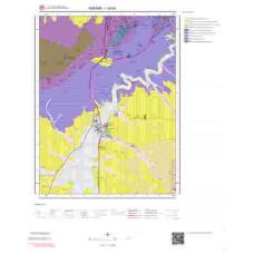 I29b4 Paftası 1/25.000 Ölçekli Vektör Jeoloji Haritası