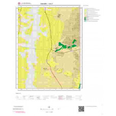 I29c1 Paftası 1/25.000 Ölçekli Vektör Jeoloji Haritası