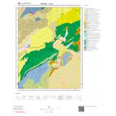 I29c2 Paftası 1/25.000 Ölçekli Vektör Jeoloji Haritası