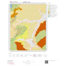 I29c3 Paftası 1/25.000 Ölçekli Vektör Jeoloji Haritası