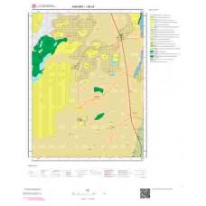 I29c4 Paftası 1/25.000 Ölçekli Vektör Jeoloji Haritası