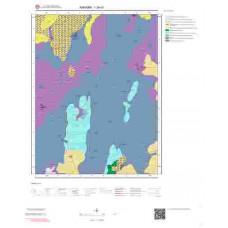I29d1 Paftası 1/25.000 Ölçekli Vektör Jeoloji Haritası