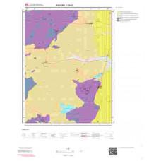 I29d2 Paftası 1/25.000 Ölçekli Vektör Jeoloji Haritası