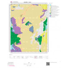I29d3 Paftası 1/25.000 Ölçekli Vektör Jeoloji Haritası