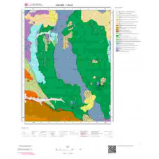 I29d4 Paftası 1/25.000 Ölçekli Vektör Jeoloji Haritası