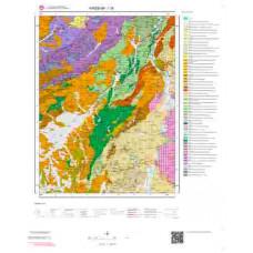 I30 Paftası 1/100.000 Ölçekli Vektör Jeoloji Haritası