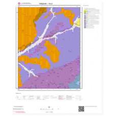 I30a1 Paftası 1/25.000 Ölçekli Vektör Jeoloji Haritası