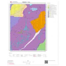 I30a2 Paftası 1/25.000 Ölçekli Vektör Jeoloji Haritası