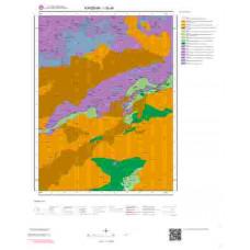 I30a4 Paftası 1/25.000 Ölçekli Vektör Jeoloji Haritası