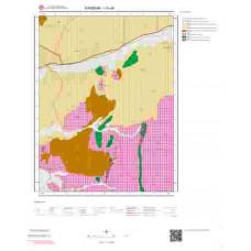 I31a4 Paftası 1/25.000 Ölçekli Vektör Jeoloji Haritası