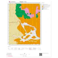 I31b2 Paftası 1/25.000 Ölçekli Vektör Jeoloji Haritası