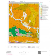 I32 Paftası 1/100.000 Ölçekli Vektör Jeoloji Haritası