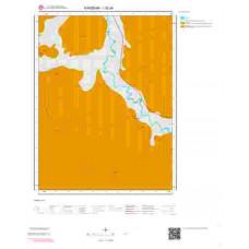 I32a4 Paftası 1/25.000 Ölçekli Vektör Jeoloji Haritası