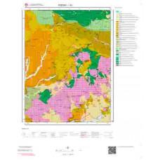 I33 Paftası 1/100.000 Ölçekli Vektör Jeoloji Haritası