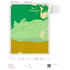 I33b2 Paftası 1/25.000 Ölçekli Vektör Jeoloji Haritası
