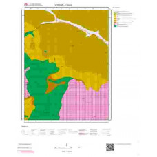 I33b3 Paftası 1/25.000 Ölçekli Vektör Jeoloji Haritası