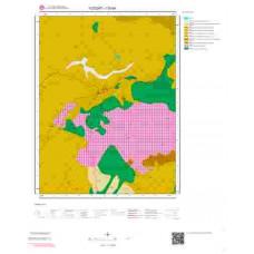 I33b4 Paftası 1/25.000 Ölçekli Vektör Jeoloji Haritası