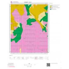 I33c1 Paftası 1/25.000 Ölçekli Vektör Jeoloji Haritası