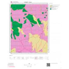 I33c2 Paftası 1/25.000 Ölçekli Vektör Jeoloji Haritası