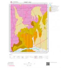 I33c4 Paftası 1/25.000 Ölçekli Vektör Jeoloji Haritası