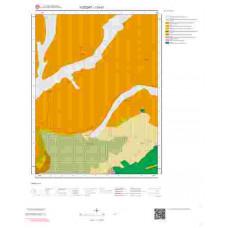 I33d1 Paftası 1/25.000 Ölçekli Vektör Jeoloji Haritası