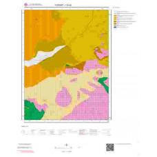 I33d2 Paftası 1/25.000 Ölçekli Vektör Jeoloji Haritası