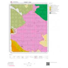 I33d4 Paftası 1/25.000 Ölçekli Vektör Jeoloji Haritası