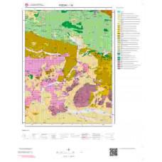 I34 Paftası 1/100.000 Ölçekli Vektör Jeoloji Haritası