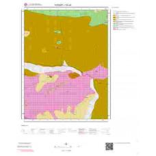 I34a3 Paftası 1/25.000 Ölçekli Vektör Jeoloji Haritası