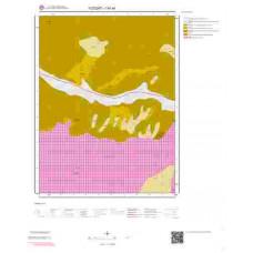 I34a4 Paftası 1/25.000 Ölçekli Vektör Jeoloji Haritası