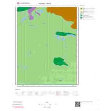 I34b2 Paftası 1/25.000 Ölçekli Vektör Jeoloji Haritası