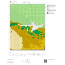 I34b3 Paftası 1/25.000 Ölçekli Vektör Jeoloji Haritası