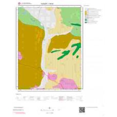 I34b4 Paftası 1/25.000 Ölçekli Vektör Jeoloji Haritası