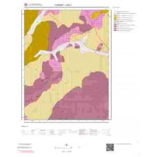 I34c1 Paftası 1/25.000 Ölçekli Vektör Jeoloji Haritası