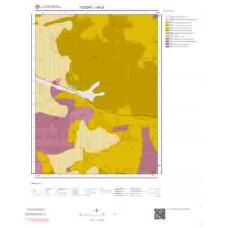 I34c2 Paftası 1/25.000 Ölçekli Vektör Jeoloji Haritası