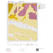 I34c3 Paftası 1/25.000 Ölçekli Vektör Jeoloji Haritası