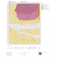 I34c4 Paftası 1/25.000 Ölçekli Vektör Jeoloji Haritası