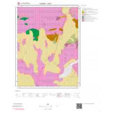 I34d1 Paftası 1/25.000 Ölçekli Vektör Jeoloji Haritası