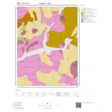I34d2 Paftası 1/25.000 Ölçekli Vektör Jeoloji Haritası