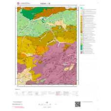 I 35 Paftası 1/100.000 ölçekli Jeoloji Haritası