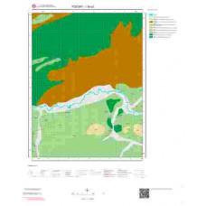 I35a2 Paftası 1/25.000 Ölçekli Vektör Jeoloji Haritası