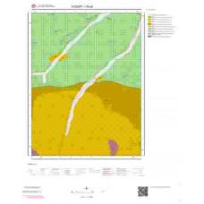I35a4 Paftası 1/25.000 Ölçekli Vektör Jeoloji Haritası