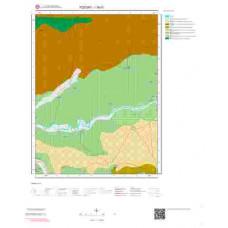I35b1 Paftası 1/25.000 Ölçekli Vektör Jeoloji Haritası