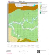 I35b2 Paftası 1/25.000 Ölçekli Vektör Jeoloji Haritası