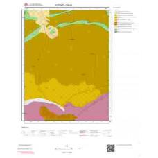 I35b3 Paftası 1/25.000 Ölçekli Vektör Jeoloji Haritası