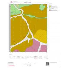 I35b4 Paftası 1/25.000 Ölçekli Vektör Jeoloji Haritası