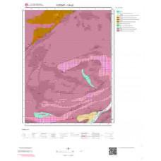 I35c2 Paftası 1/25.000 Ölçekli Vektör Jeoloji Haritası